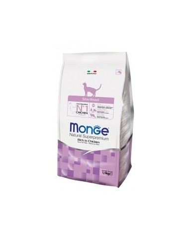 Monge Cat Sterilised Ricco di Pollo 400 gr