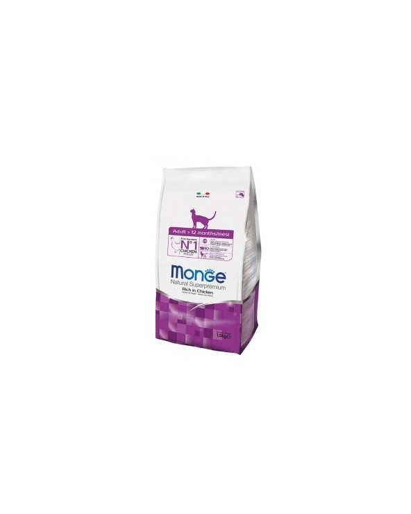 Monge Cat Adult Ricco di Pollo 400 g