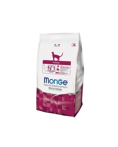 Monge Cat Indoor Ricco di Pollo 400gr