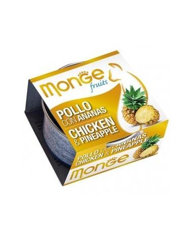 Monge Pollo con Ananas 80 g