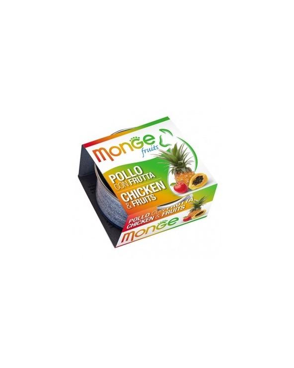 Monge Pollo con Frutta 80 g
