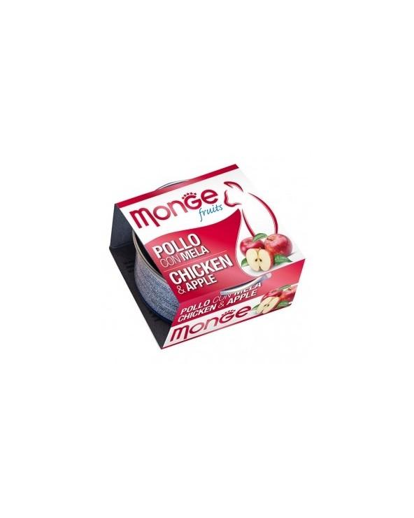Monge Pollo con Mela 80 g