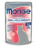 Monge Tonno con Pollo e Gamberetti – Adult
