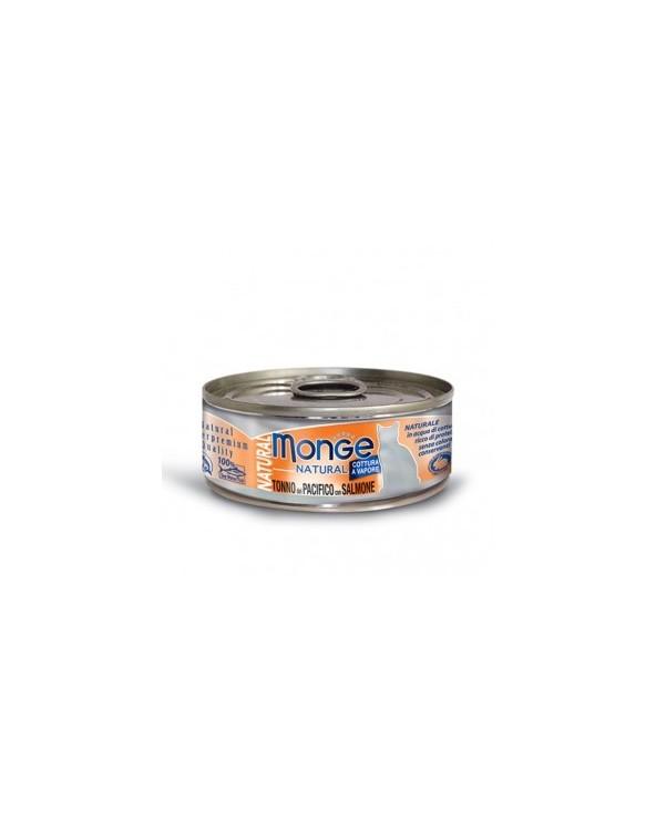 Monge Tonno del Pacifico con Salmone 80 g