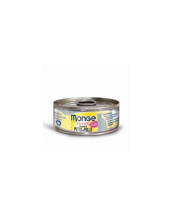 Monge Pezzetti di Petto di Pollo 80 g