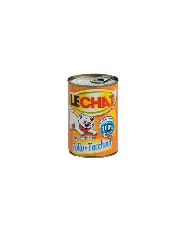LeChat Bocconcini con Pollo e Tacchino 720 g