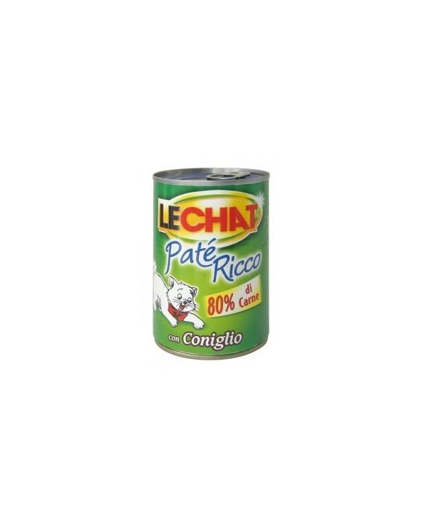 LeChat Paté con Coniglio 400g