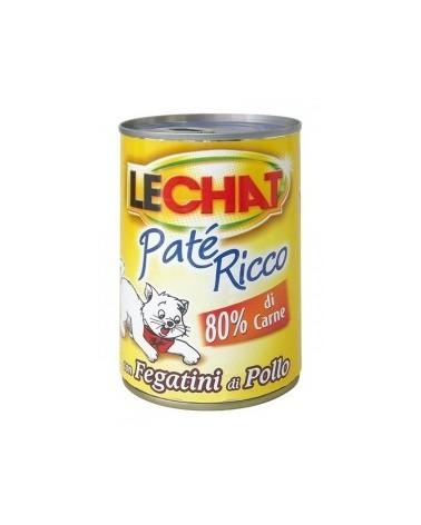 LeChat Paté con Fegatini di Pollo 400g