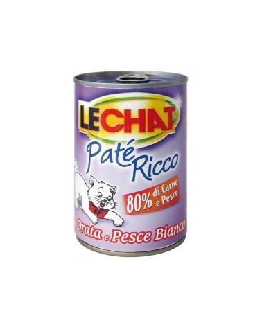LeChat Paté con Orata e Pesce Bianco 400 g