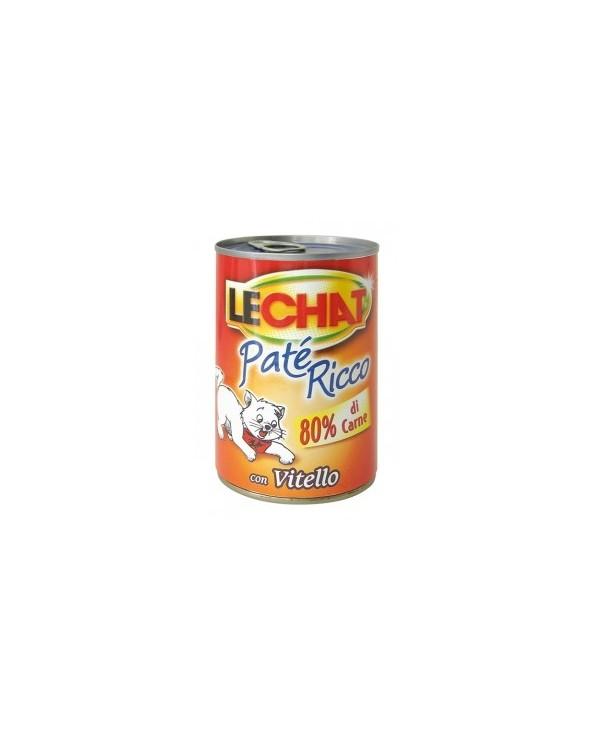 LeChat Paté con Vitello 400g