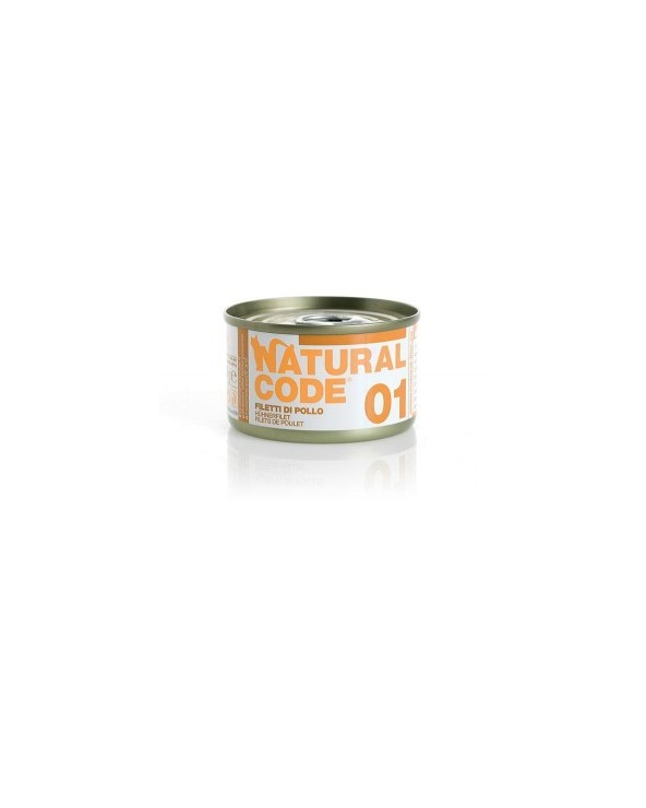 Natural Code Cat Adult 01 Filetti di Pollo 85 g