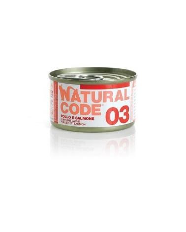 Natural Code Adult Cat 03 Pollo e Salmone
