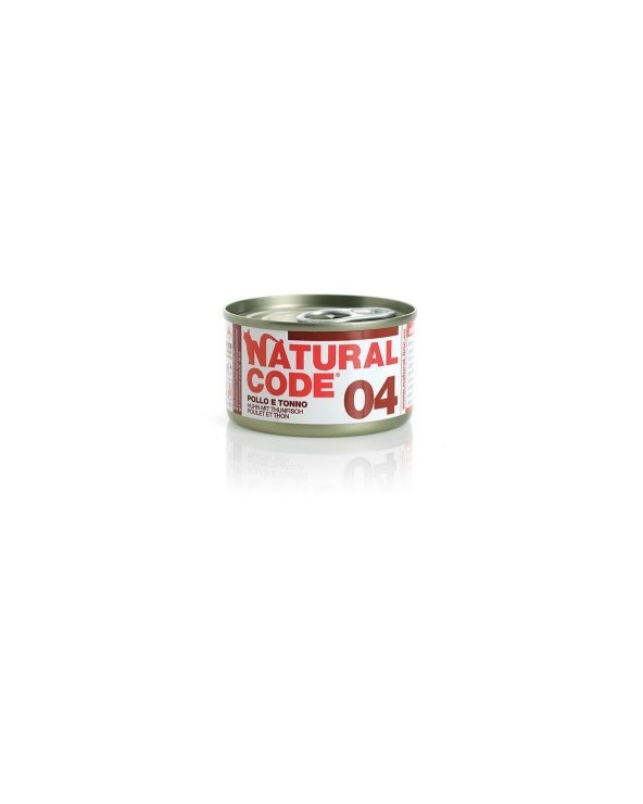 Natural Code Cat Adult  04 Pollo e Tonno 85g