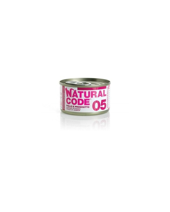 Natural Code Cat Adult  05 Pollo e Prosciutto 85g