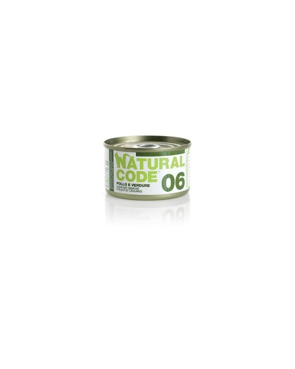 Natural Code Cat Adult  06 Pollo e Verdure 85g