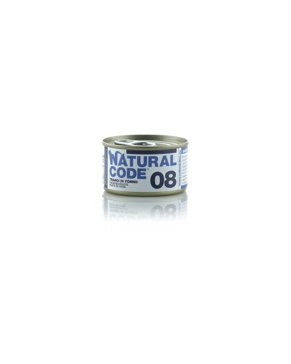 Natural Code Cat Adult 08 Tranci di Tonno 85 g
