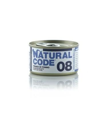 Natural Code Cat Adult 08 Tranci di Tonno 85 g