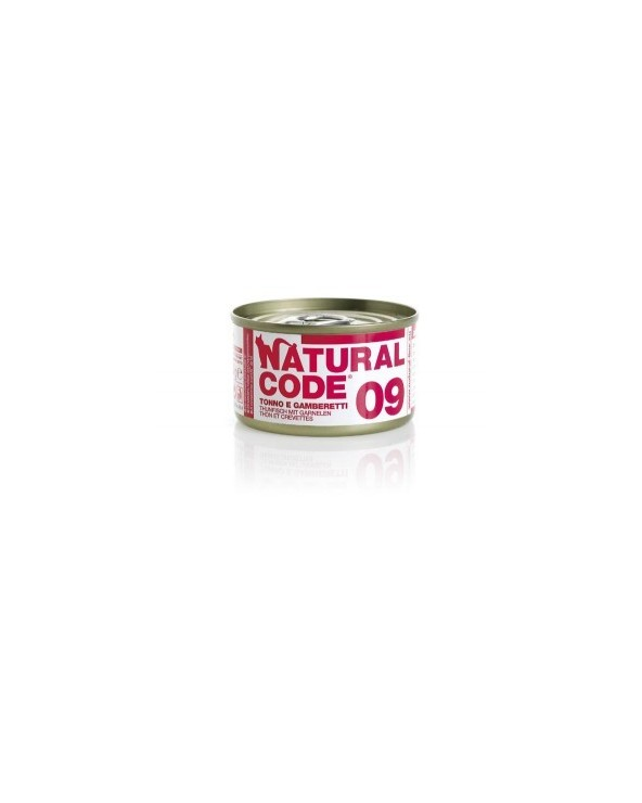 Natural Code Cat Adult 09 Tonno e Gamberetti 85g