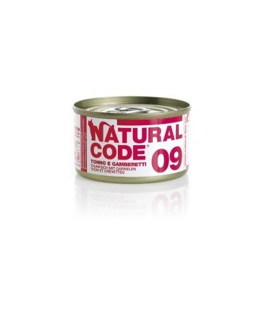 Natural Code Cat Adult 09 Tonno e Gamberetti 85 g