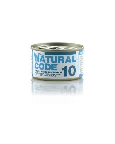 Natural Code Cat Adult 10 Tonno e Piccoli Pesci Bianchi 85 g