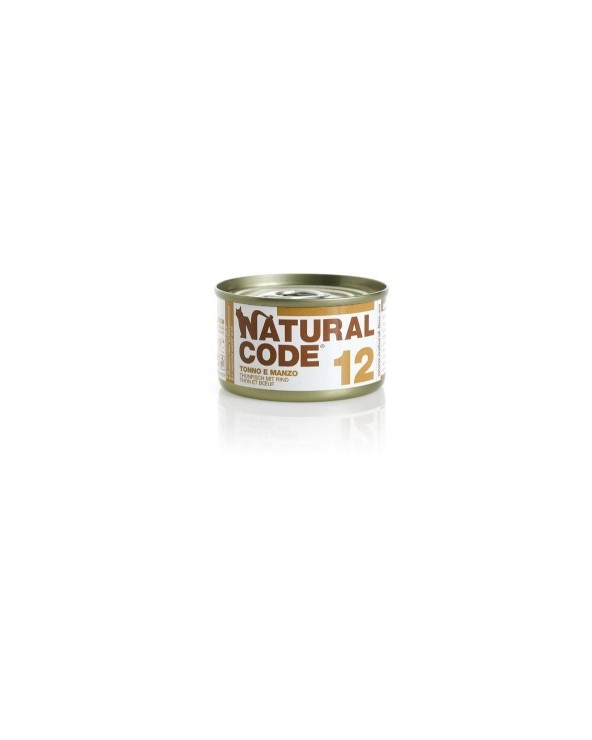 Natural Code Cat Adult 12 Tonno e Manzo 85 g