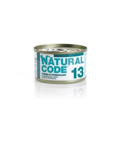Natural Code Adult Cat 13 Tonno e Formaggio