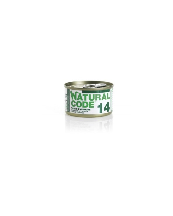 Natural Code Cat Adult 14 Tonno e Verdure 85g