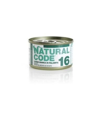 Natural Code Cat Adult 16 Carne Bianca di Palamita 85g