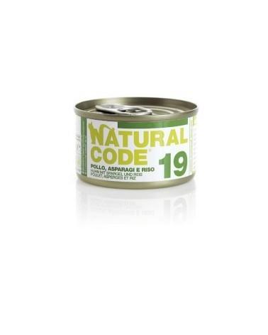 Natural Code Cat Adult 19 Pollo Asparagi e Riso 85g