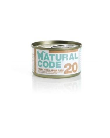 Natural Code Cat Adult 20 Tonno Fagioli e Alghe 85 g