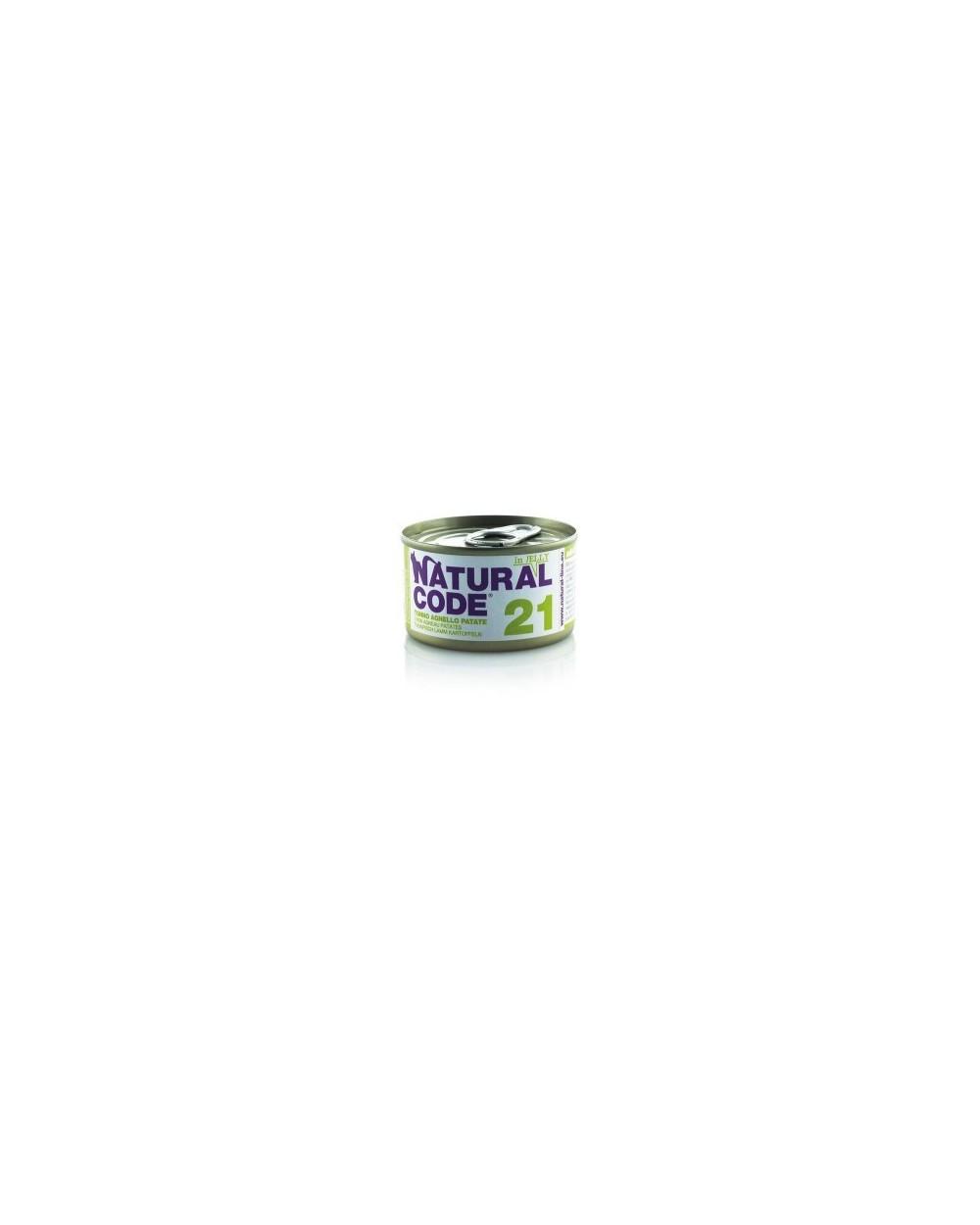 Natural Code Adult Cat 21 Tonno, Agnello e Patate