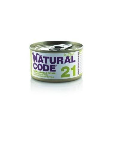 Natural Code Cat Adult 21 Tonno Agnello e Patate 85g