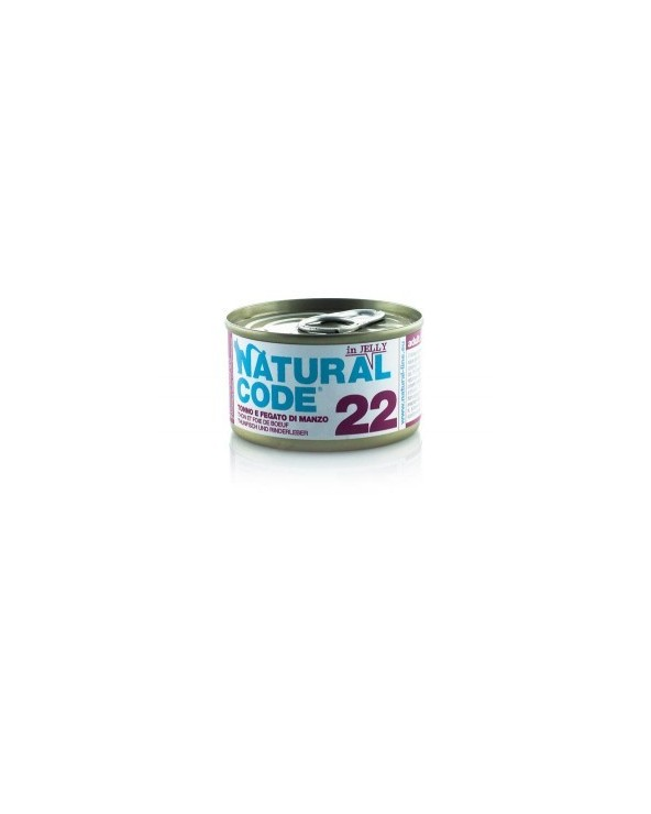 Natural Code Cat Adult 22 Tonno e Fegato di Manzo 85g