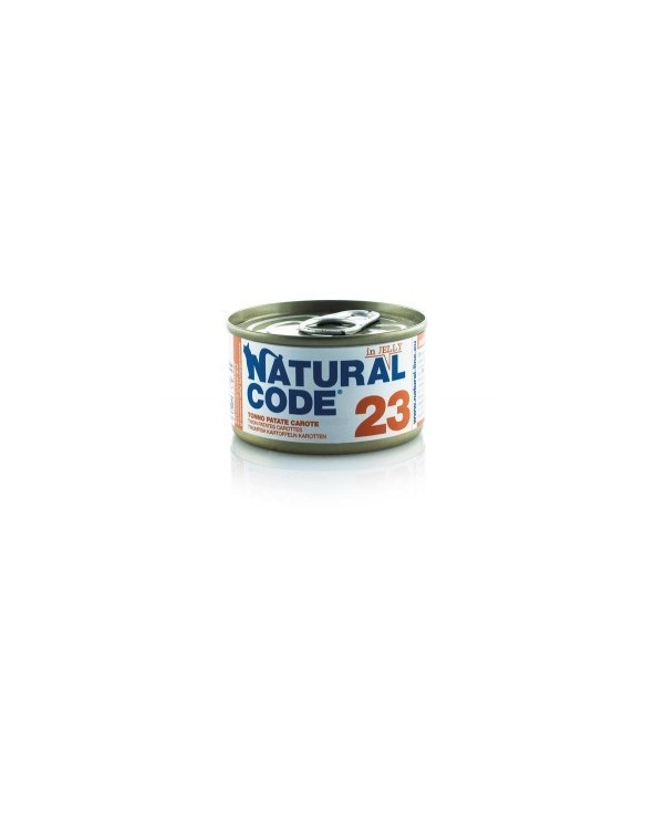 Natural Code Cat Adult 23 Tonno, Patate e Carote 85g