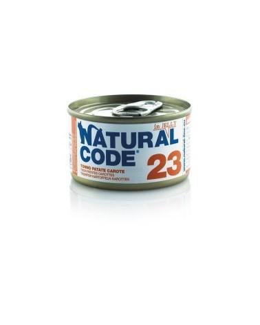 Natural Code Adult Cat 23 Tonno, Patate e Carote