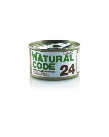 Natural Code Cat Adult 24 Tonno Manzo e Verdure 85g
