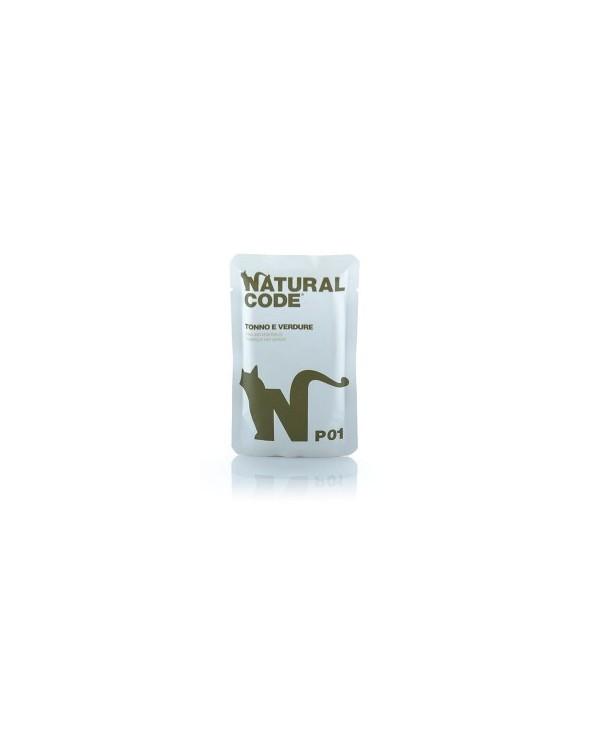 Natural Code Cat P01 Tonno e Verdure Bustine 70g