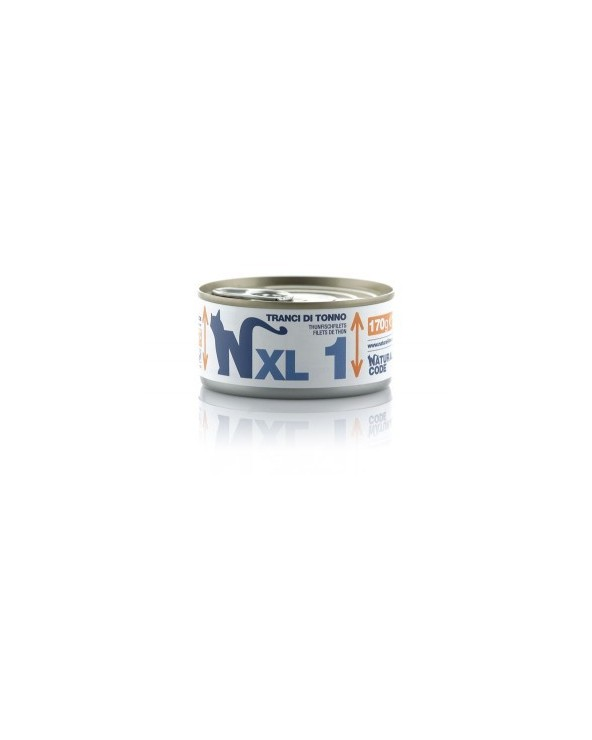 Natural Code Cat XL 01 Tranci di Tonno 170g