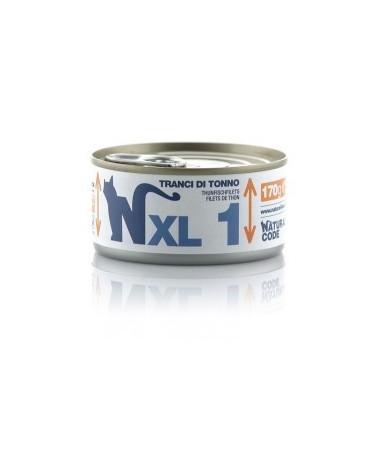 Natural Code Cat XL 01 Tranci di Tonno 170g