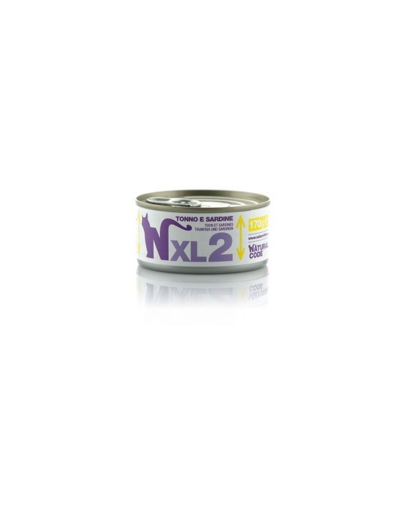 Natural Code Cat XL 02 Tonno e Sardine 170g