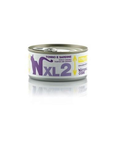 Natural Code Cat XL 02 Tonno e Sardine 170g