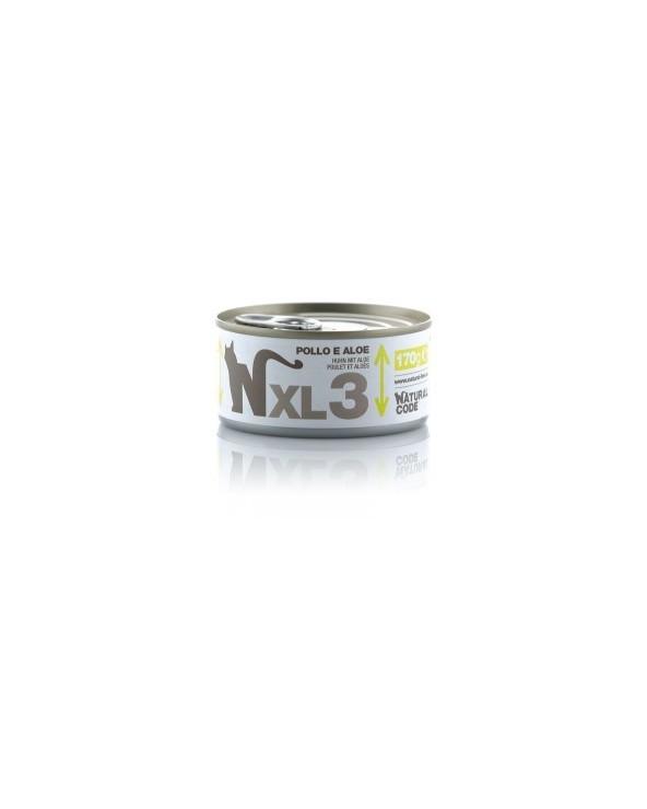 Natural Code Cat XL 03 Pollo e Aloe 170g