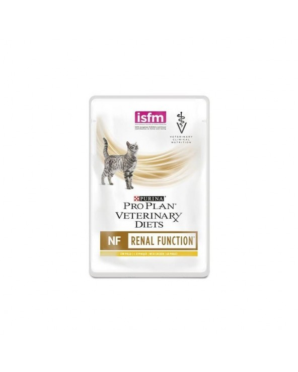 Pro Plan Cat Veterinary Diets NF Renal Function con Pollo Sfilaccetti in Salsa 85 g