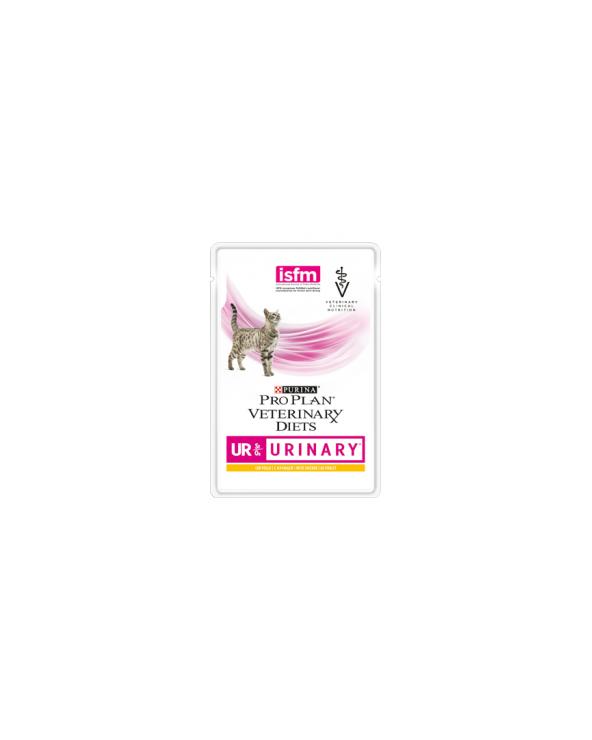 Pro Plan Cat Veterinary Diets UR St/Ox  Sfilaccetti con Pollo Bustina 85 g