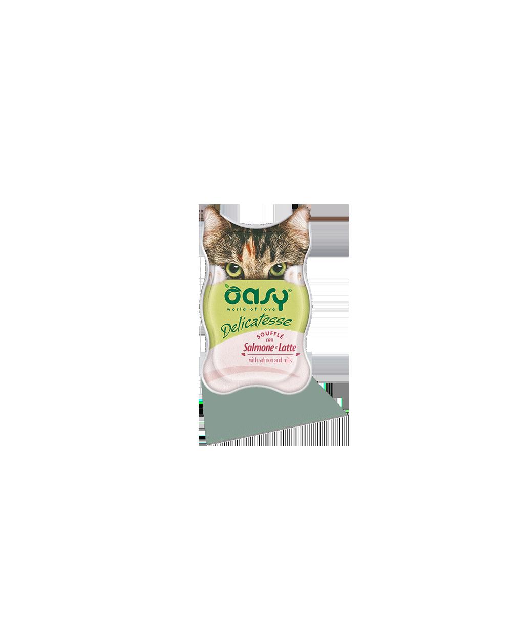 Oasy Delicatesse Soufflè Con Salmone e Latte