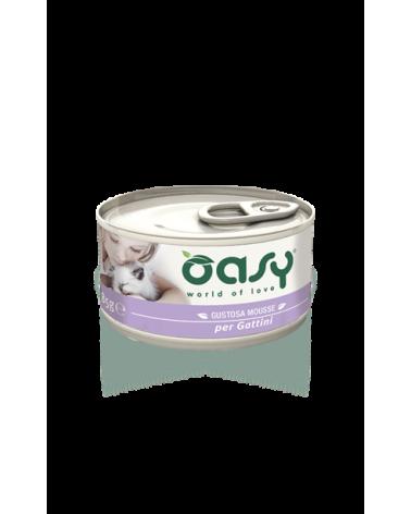 Oasy Cat Mousse per Gattini con Pollo 85 g