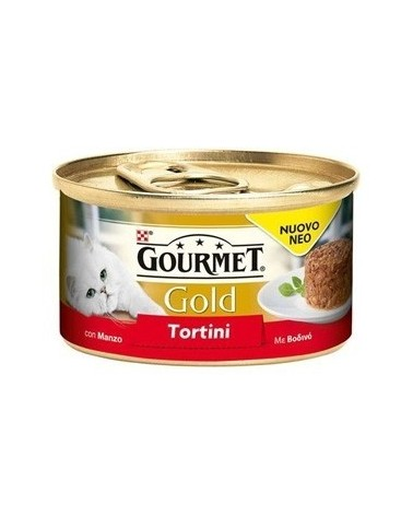 Gourmet Gold Tortini con Manzo 85 g