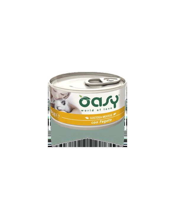 Oasy Cat Mousse con Fegato 85 g