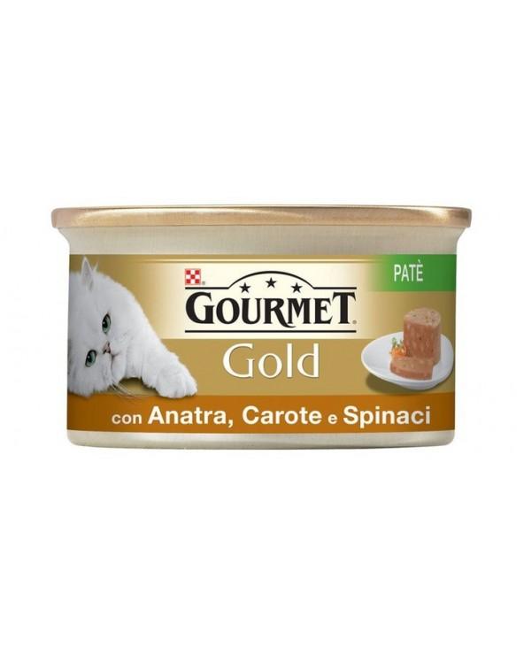 Gourmet Gold Patè con Anatra Carote e Spinaci 85 g