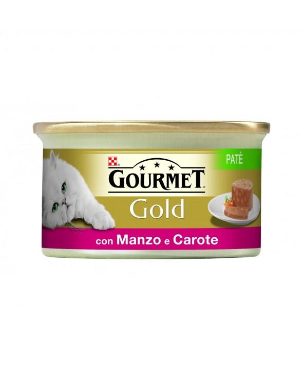 Gourmet Gold Patè con Manzo e Carote 85 g
